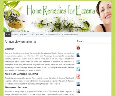 Home Remedis For Eczema