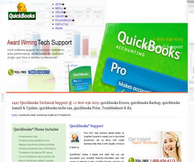 Quickbooks® Support, Quickbooks® Help 800-656-6115