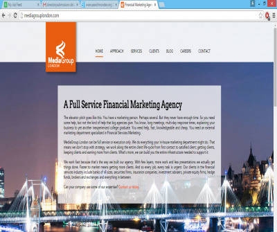 MediaGroup London Financial Marketing Agency