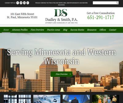 Dudley & Smith Minnesota Law Firm in St. Paul Minnesota