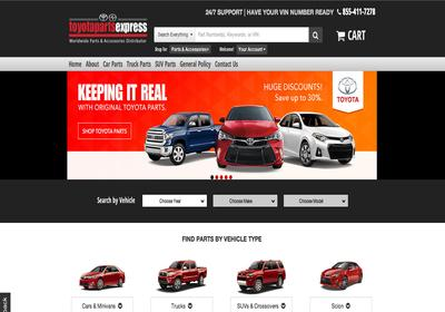 Genuine Toyota Parts from Toyota Parts Express