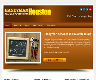 Handyman Houston