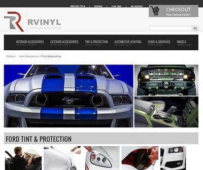 Rvinyl Tint & Auto Accessories