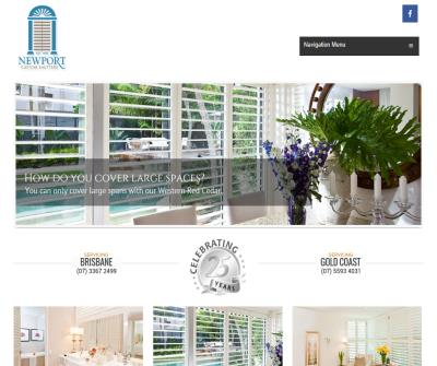 Newport Custom Shutters & Blinds