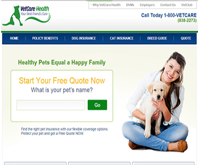 VetCare Health Pet Insurance