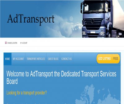 AdTransport Company Presentation
