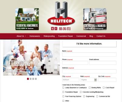 Helitech Waterproofing & Foundation Repair