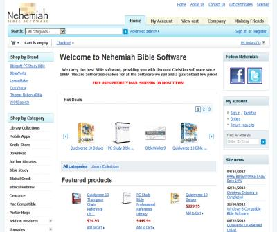 Nehemiah Bible Software