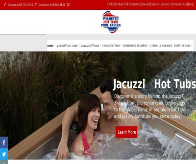 Palmetto Hot Tubs and Pool Tables Columbia SC