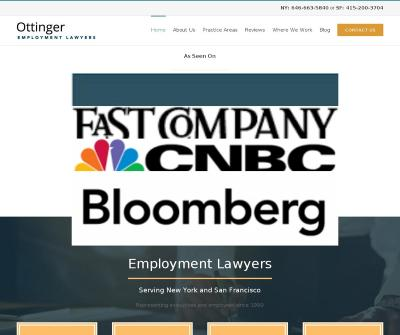 The Ottinger Firm, P.C. Top-Rated Employment Lawyers for New York and San Francisco