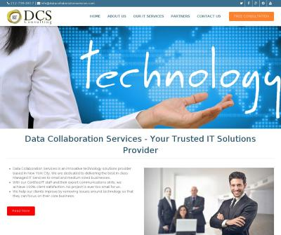 Data collaboration services IT Support Services in New York