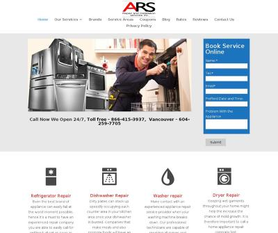 Appliances Repair Service 24/7 Same-day Emergency Service Vancouver