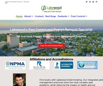 Lakewood Exterminating Local Exterminator Pest Control services Ohio