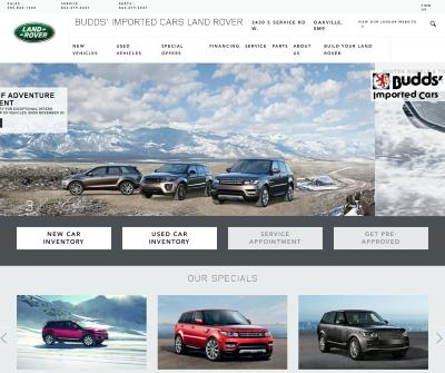 Budds Land Rover, Discovery Dealership Sales and Accessories Toronto
