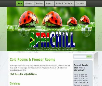 Africhill Cold Storage, Freezer Room, Insulated Panels South Africa