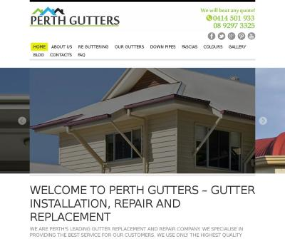 Perth Gutters High Quality Gutter Installation, Replacement and Repair Australia