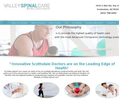 Valley Spinal Care Chiropractic Medical Scottsdale AZ