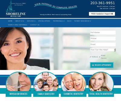 Shoreline Dental Care Cosmetic Dentistry, Emergency Dentist West Haven, CT