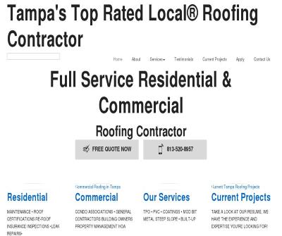 Constructomax  24 Hour Roofing Repair and Maintenance,Tampa FL