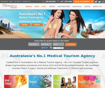 CosMeditour: Plastic Surgery & Medical Holidays in Thailand