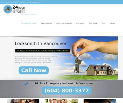 Locksmith Vancouver 24/7 Car, Home, Mobile Emergency Service