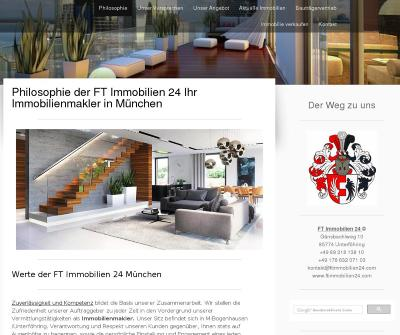 FT Immobilien 24 Real Estate Brokers Munich