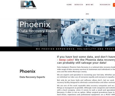 Data Analyzers Data Recovery Services Phoenix