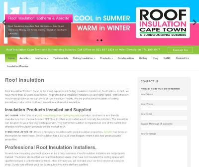 Roof Insulation Western Cape,