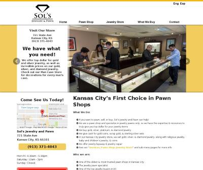 Sol's Jewelry and Pawn Gold, Silver, Diamond Jewelry Kansas City KS
