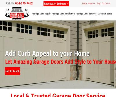 Gulliver Garage Doors Repair Installation & Maintenance Service Vancouver