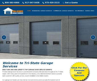 Tri-state Garage Services New York And New Jersey's Top Garage Door Service Experts