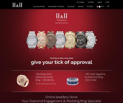 H&H Jewellery Stores Melbourne Engagement Rings, Wedding Rings