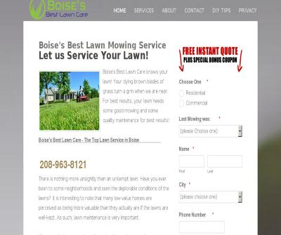 Boise's Best Lawn Care Elite Landscaping Team Idaho