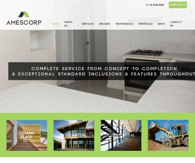 Amescorp Residential, Commercial Home, Granny Flat Builders Construction Sydney