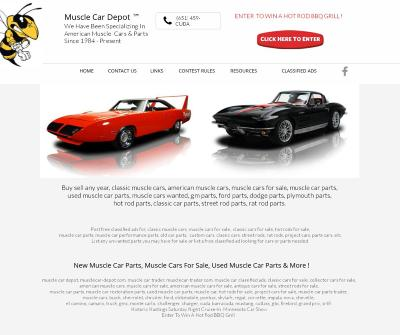 Muscle Car Depot ™ Buy, Sell Muscle Cars, Street Rods, Parts Online