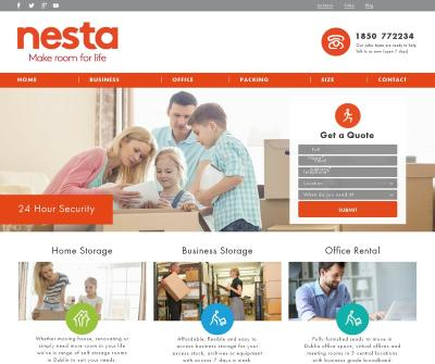 Nesta Storage Business and Self Storage Services Dublin Ireland