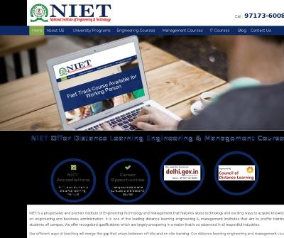 National Institute Of Engineering And Technology (NIET)