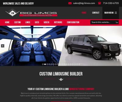 Big Limos CA, Inc. Elite Custom Limousine Builder Costa Mesa CA