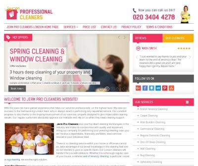 Jerm Pro Cleaners Upholstery Cleaning, Wall Cleaning London UK