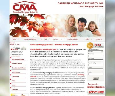 Canadian Mortgage Authority Inc. Hamilton Mortgage Broker