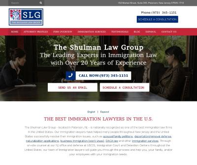 The Shulman Law Group - Immigration Lawyer NewJersey