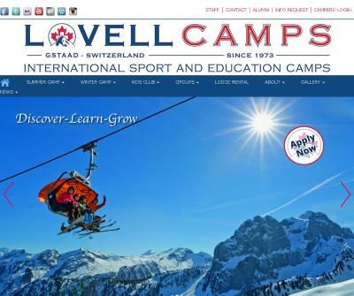 Lovell Camps : Summer & Winter Camps In Switzerland