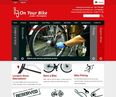 On Your Bike - Bicycle Shops London