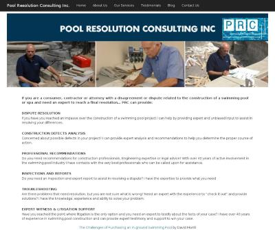 Swimming Pool Analysis Pool Resolution Consulting Walnut CA