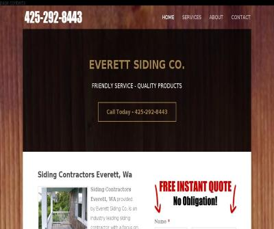 Everett Siding Co. Metal,Cedar, Vinyl Siding Installation and Repair WA