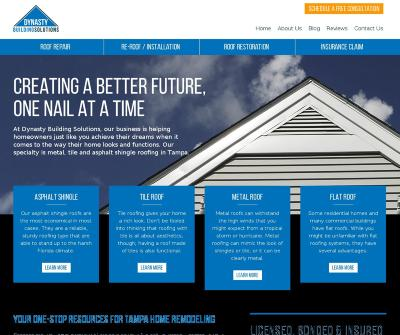 Dynasty Building Solutions Roofers Outdoor, Bathroom and Kitchen Remodeling Tampa FL
