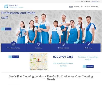 Sam's Flat Cleaning London Providing Expert Services M25 area.