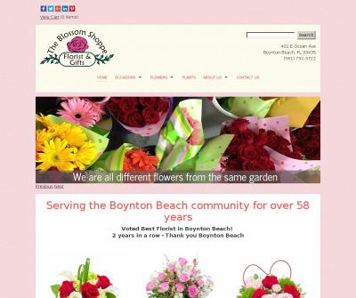 The Blossom Shoppe Florist & Gifts Boynton Beach FL