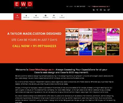 Best Escort Website Design Company India
