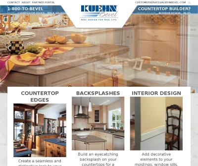 Kuehn Bevel Wholesale Distributors Authorized Countertop Fabricators Stanhope, NJ